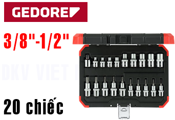 Bộ dụng cụ Gedore Red R68003020