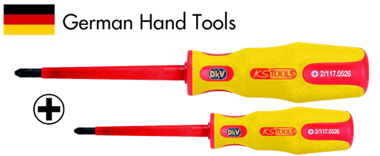 to vit 4 canh cach dien ks tools vde 117.0524, ks tools screwdriver vde 117.0524
